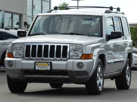 2006 Jeep Commander for sale at Loudoun Used Cars - LOUDOUN MOTOR CARS in Chantilly VA
