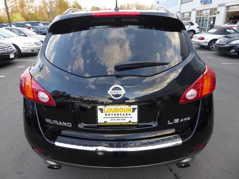 2009 Nissan Murano AWD LE 4dr SUV - Chantilly VA