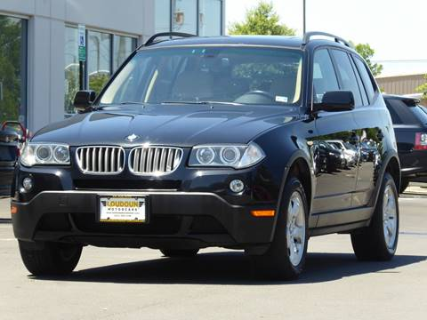 2008 BMW X3 for sale at Loudoun Used Cars - LOUDOUN MOTOR CARS in Chantilly VA
