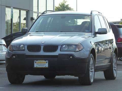 2005 BMW X3 for sale at Loudoun Used Cars - LOUDOUN MOTOR CARS in Chantilly VA