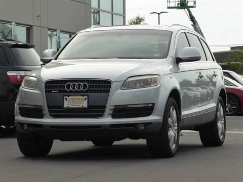 2007 Audi Q7 for sale at Loudoun Used Cars - LOUDOUN MOTOR CARS in Chantilly VA