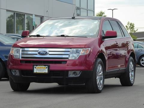 2008 Ford Edge for sale at Loudoun Used Cars - LOUDOUN MOTOR CARS in Chantilly VA