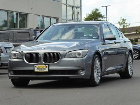 2012 BMW 7 Series for sale at Loudoun Used Cars - LOUDOUN MOTOR CARS in Chantilly VA