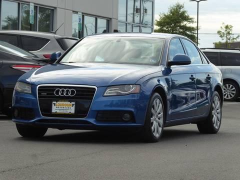 2009 Audi A4 for sale at Loudoun Used Cars - LOUDOUN MOTOR CARS in Chantilly VA