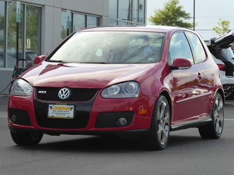 2009 Volkswagen GTI for sale at Loudoun Used Cars - LOUDOUN MOTOR CARS in Chantilly VA