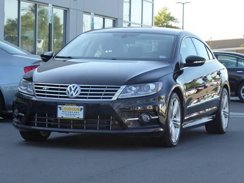2013 Volkswagen CC for sale at Loudoun Used Cars - LOUDOUN MOTOR CARS in Chantilly VA