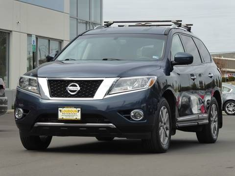 2014 Nissan Pathfinder for sale at Loudoun Used Cars - LOUDOUN MOTOR CARS in Chantilly VA