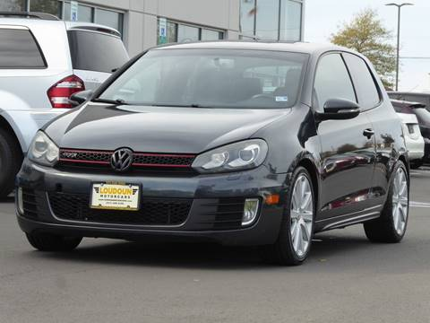 2010 Volkswagen GTI for sale at Loudoun Used Cars - LOUDOUN MOTOR CARS in Chantilly VA