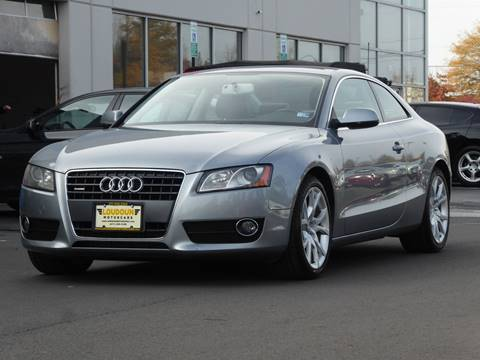2011 Audi A5 for sale at Loudoun Used Cars - LOUDOUN MOTOR CARS in Chantilly VA
