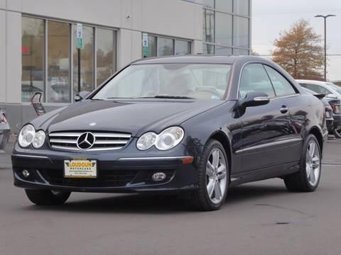 2006 Mercedes-Benz CLK for sale at Loudoun Used Cars - LOUDOUN MOTOR CARS in Chantilly VA