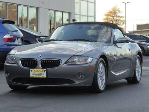 2005 BMW Z4 for sale at Loudoun Used Cars - LOUDOUN MOTOR CARS in Chantilly VA
