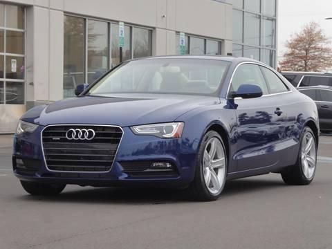 2013 Audi A5 for sale at Loudoun Used Cars - LOUDOUN MOTOR CARS in Chantilly VA