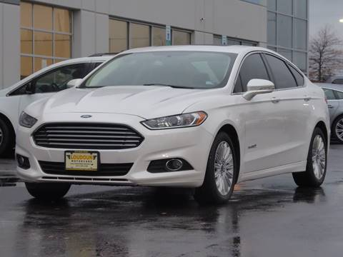 2014 Ford Fusion Hybrid for sale at Loudoun Used Cars - LOUDOUN MOTOR CARS in Chantilly VA