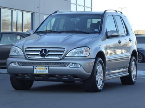 2005 Mercedes-Benz M-Class for sale at Loudoun Used Cars - LOUDOUN MOTOR CARS in Chantilly VA