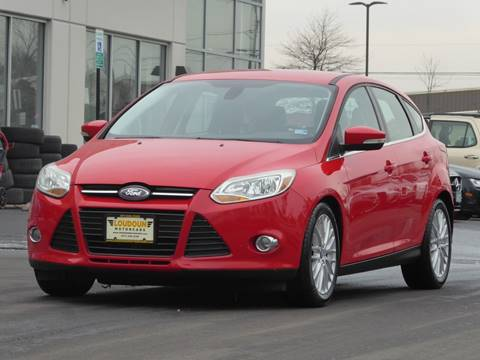 2012 Ford Focus for sale at Loudoun Used Cars - LOUDOUN MOTOR CARS in Chantilly VA