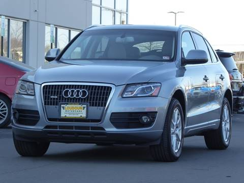 2011 Audi Q5 for sale at Loudoun Used Cars - LOUDOUN MOTOR CARS in Chantilly VA