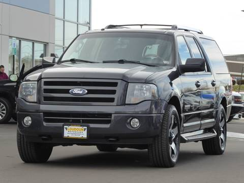 2007 Ford Expedition EL for sale at Loudoun Used Cars - LOUDOUN MOTOR CARS in Chantilly VA