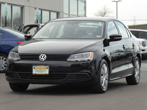 2012 Volkswagen Jetta for sale at Loudoun Used Cars - LOUDOUN MOTOR CARS in Chantilly VA