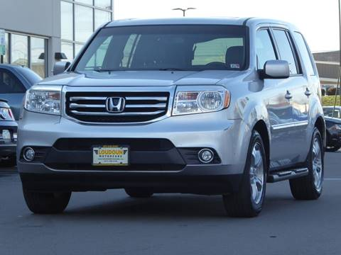 2012 Honda Pilot for sale at Loudoun Used Cars - LOUDOUN MOTOR CARS in Chantilly VA