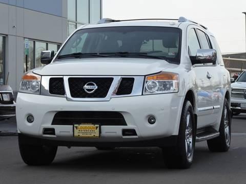 2010 Nissan Armada for sale at Loudoun Used Cars - LOUDOUN MOTOR CARS in Chantilly VA