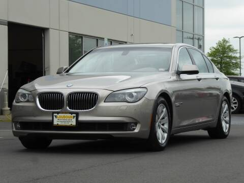 2009 BMW 7 Series for sale at Loudoun Used Cars - LOUDOUN MOTOR CARS in Chantilly VA