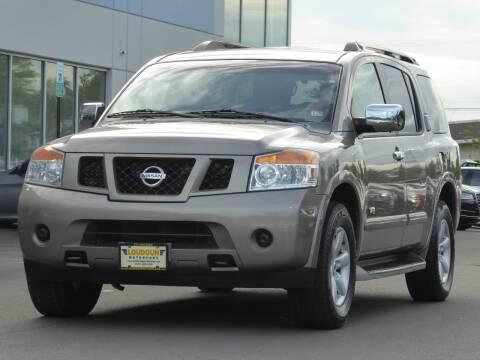 2009 Nissan Armada for sale at Loudoun Used Cars - LOUDOUN MOTOR CARS in Chantilly VA