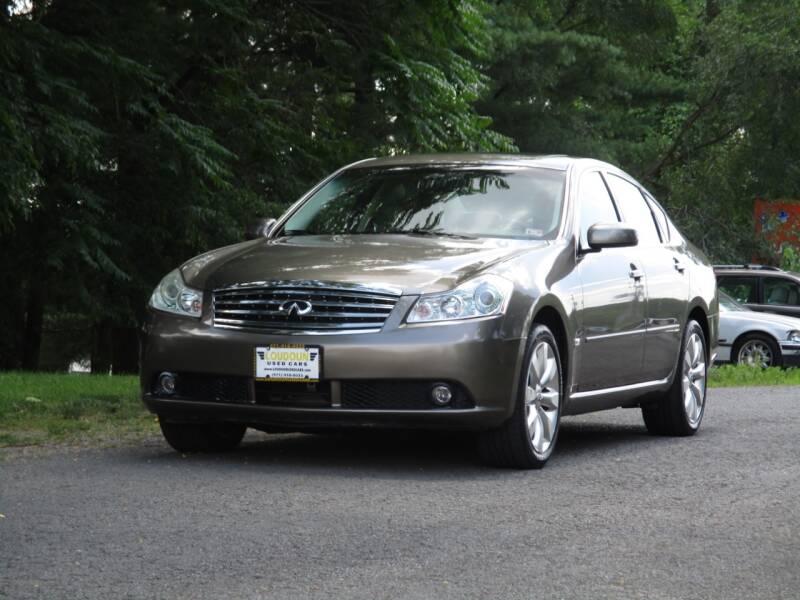 2007 Infiniti M35 for sale at Loudoun Used Cars in Leesburg VA