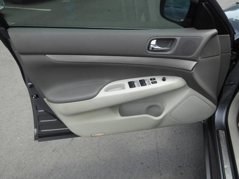 2012 Infiniti G25 Sedan Journey 4dr Sedan - Chantilly VA