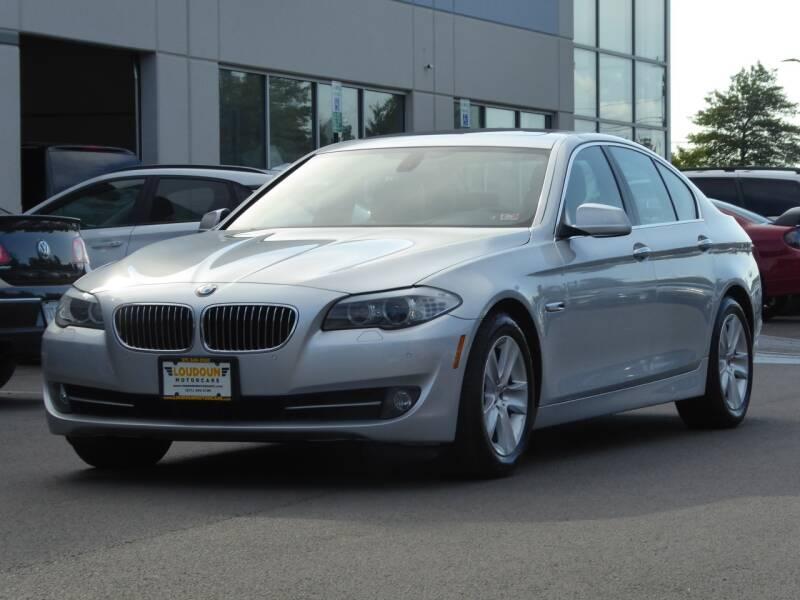 2011 BMW 5 Series for sale at Loudoun Used Cars - LOUDOUN MOTOR CARS in Chantilly VA