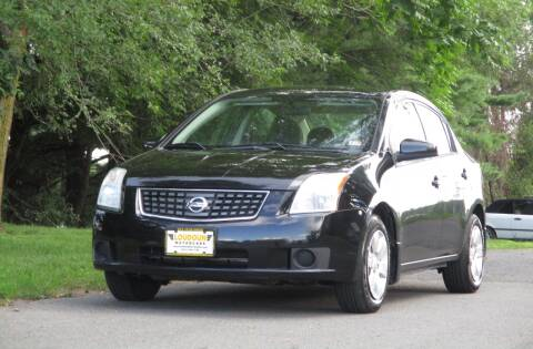 2008 Nissan Sentra for sale at Loudoun Used Cars in Leesburg VA