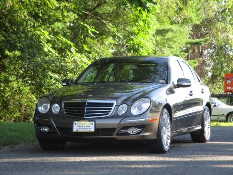 2008 Mercedes-Benz E-Class for sale at Loudoun Used Cars in Leesburg VA