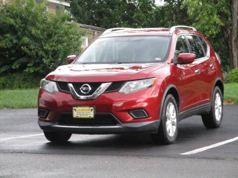 2016 Nissan Rogue for sale at Loudoun Used Cars in Leesburg VA