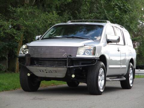 2004 Nissan Armada for sale at Loudoun Used Cars in Leesburg VA