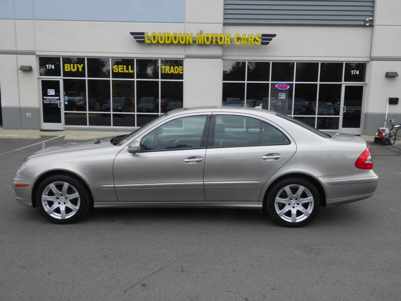 2007 Mercedes-Benz E-Class AWD E 350 4MATIC 4dr Sedan - Chantilly VA