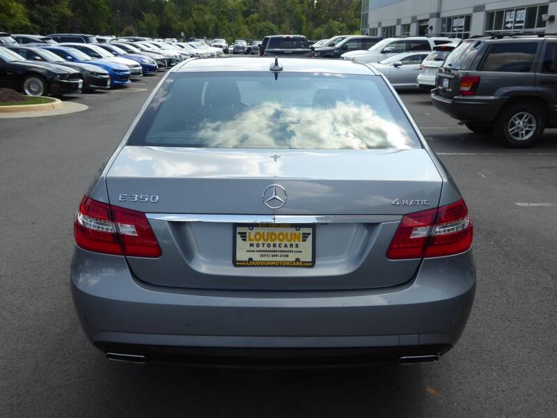 2011 Mercedes-Benz E-Class AWD E 350 Sport 4MATIC 4dr Sedan - Chantilly VA