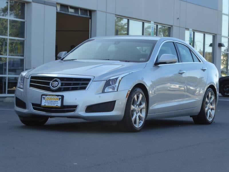 2013 Cadillac ATS for sale at Loudoun Used Cars - LOUDOUN MOTOR CARS in Chantilly VA
