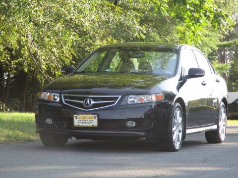 2007 Acura TSX for sale at Loudoun Used Cars in Leesburg VA