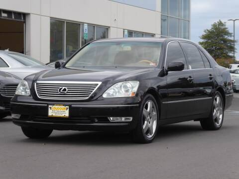 2005 Lexus LS 430 for sale at Loudoun Used Cars - LOUDOUN MOTOR CARS in Chantilly VA