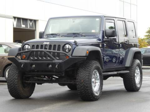 2013 Jeep Wrangler Unlimited for sale at Loudoun Used Cars - LOUDOUN MOTOR CARS in Chantilly VA