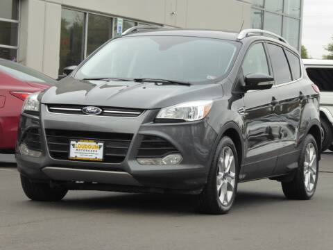 2016 Ford Escape for sale at Loudoun Used Cars - LOUDOUN MOTOR CARS in Chantilly VA