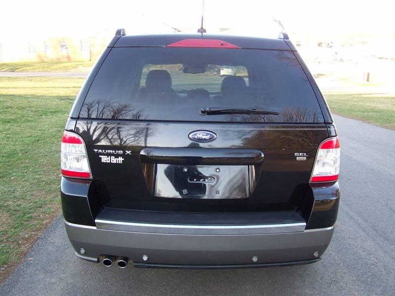 2008 Ford Taurus X AWD SEL 4dr Wagon In Leesburg VA  Loudoun Used