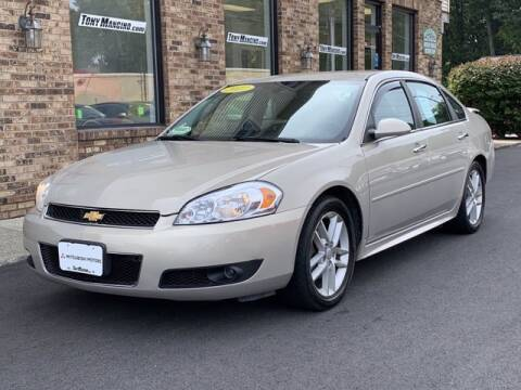 2012 Chevrolet Impala for sale at The King of Credit in Clifton Park NY