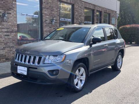2012 Jeep Compass for sale at The King of Credit in Clifton Park NY
