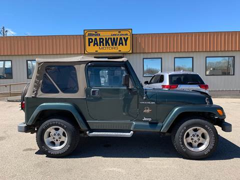2002 Jeep Wrangler for sale in Springfield, IL