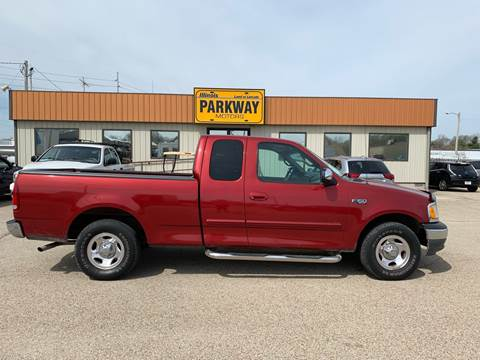 2001 Ford F-150 for sale at Parkway Motors in Springfield IL