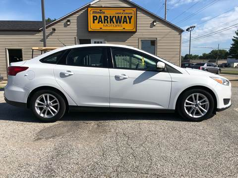 2015 Ford Focus for sale at Parkway Motors in Springfield IL