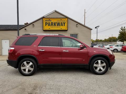 2010 GMC Acadia for sale at Parkway Motors in Springfield IL