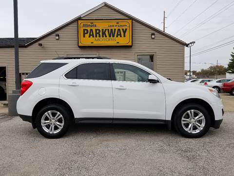 2012 Chevrolet Equinox for sale at Parkway Motors in Springfield IL
