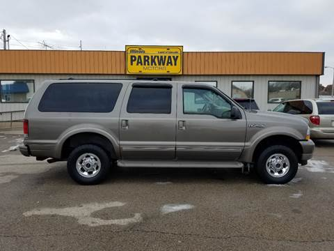 2004 Ford Excursion for sale at Parkway Motors in Springfield IL