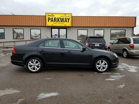 2012 Ford Fusion for sale at Parkway Motors in Springfield IL